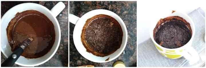 1 Minute Healthy Microwave Mug Brownie Recipe | Eggless Mug Brownie Recipe