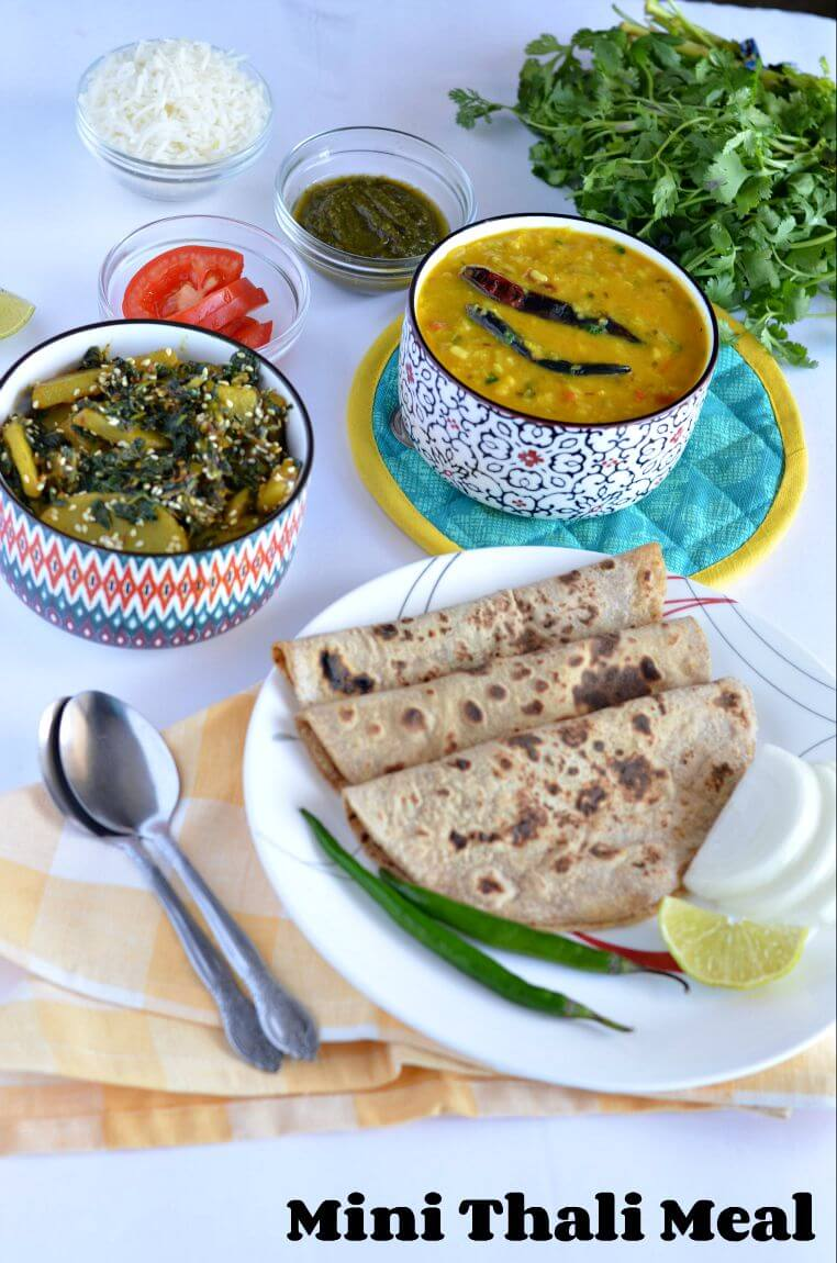 Panchmel dal as the name says is the combination of five dals and belongs to Rajasthani cuisine. This dal is protein packed with the goodness of five dals together. Generally, panchmel dal is served with baati but can be served with roti and rice too.