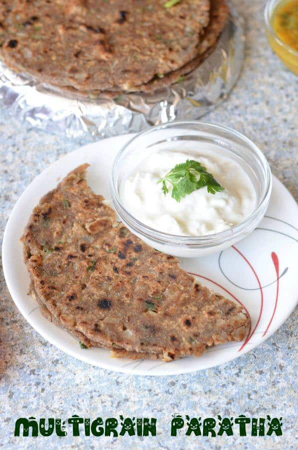 Multigrain Paratha | Healthy Multigrain Paratha Recipe For Breakfast