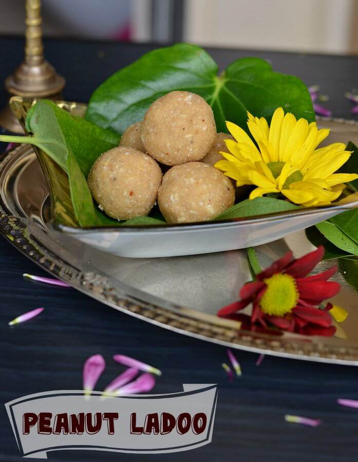 Peanut Ladoo | Peanut Ladoo With Jaggery Recipe | How To Make Peanut Ladoo