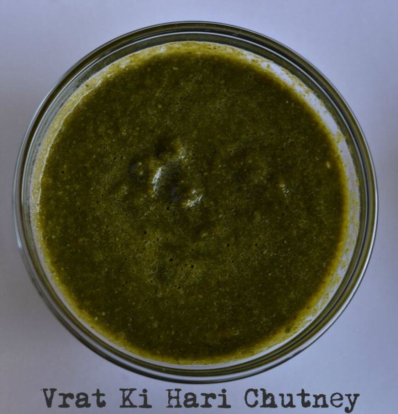 Vrat ki chutney or falahari chutney are prepared without using onion and garlic. Today I am sharing three phalahari chutney or satvik chutney recipes with easily available ingredients, named vrat ki hari chutney, vrat ki peanut chutney and vrat ki coconut chutney which are served during fasting days or upvaas.