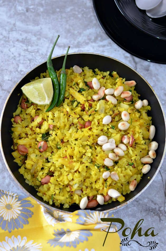 Indori Poha Recipe | Indori Pohe | How To Make Indori Poha A Traditional Breakfast Recipe