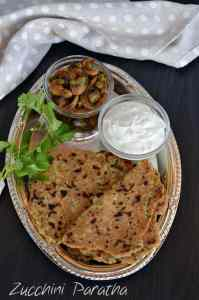 Zucchini Paratha is a flatbread with an Indian twist and a perfect breakfast or brunch recipe. Added some pickle andtaste was great.