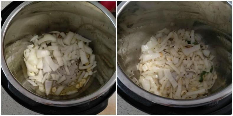 sauteed chopped onion tll they changes color to golden color