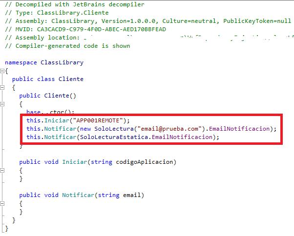 csharp - Diferencias de compilación entre readonly y const