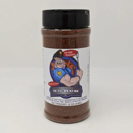 Code 3 Spices - 5-0 Rub - 12oz