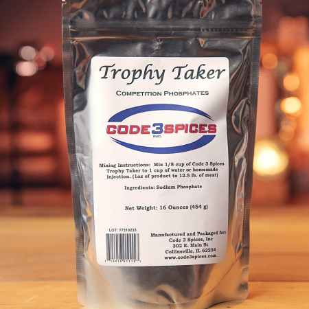 Code 3 Spices 16oz. Bag of Trophy Taker Competition Phosphates