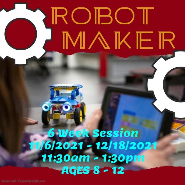 Robot Maker Robotics class
