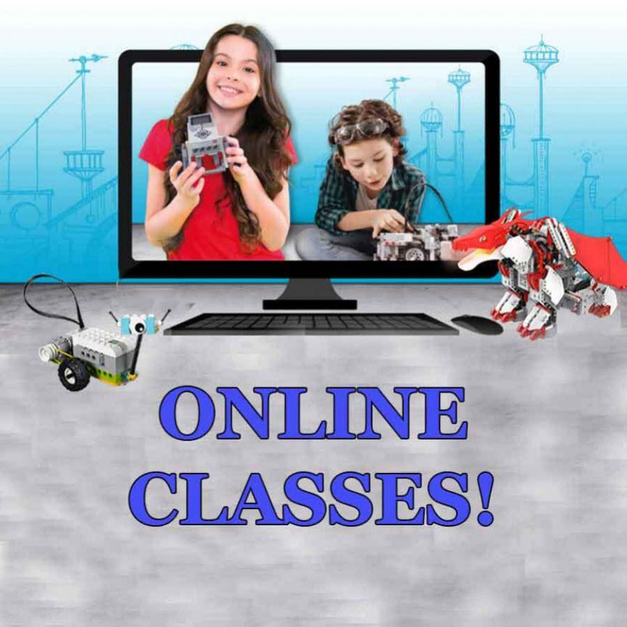 Online Robotics and Coding Classes