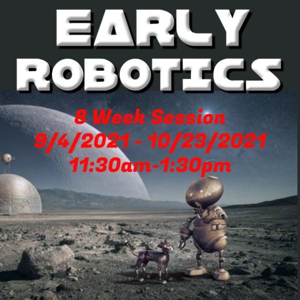 Early robotics classes San Antonio