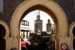 blue gate - Fez