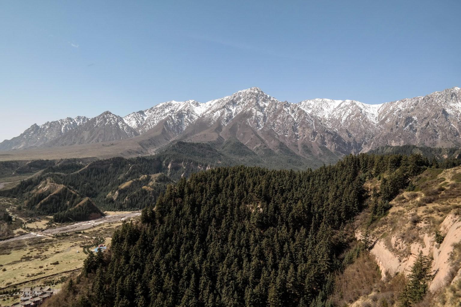 Punkt Widowoky na Wyżynę Tybetańską