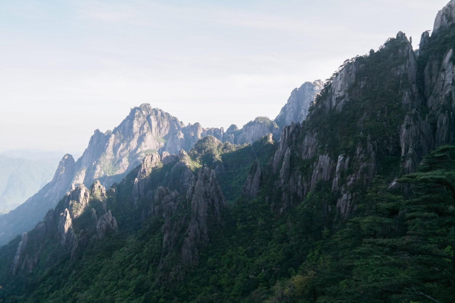 Żółte Góry w Chinach