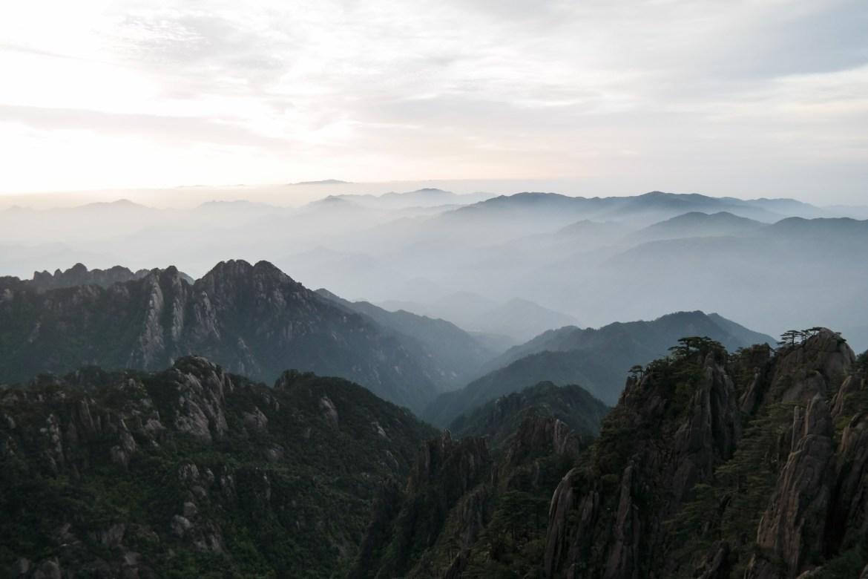 morze chmur w huang shan