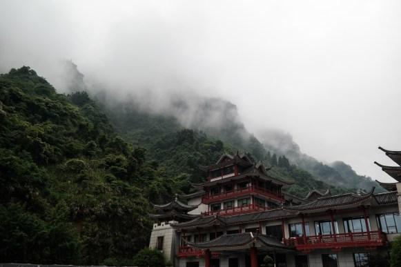 u podnóża góry Tianmen