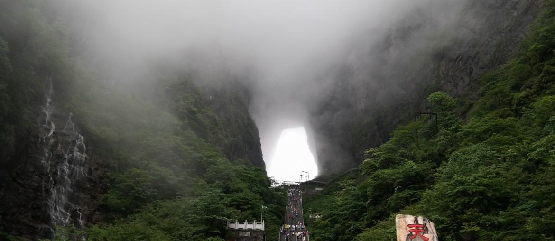 Góra Tianmen i 999 schodów