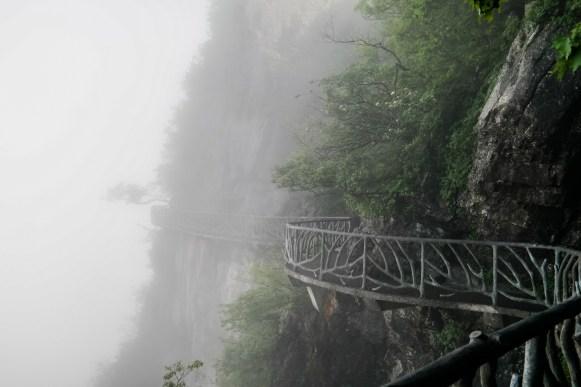 Wschodnia ścieżka na klifie