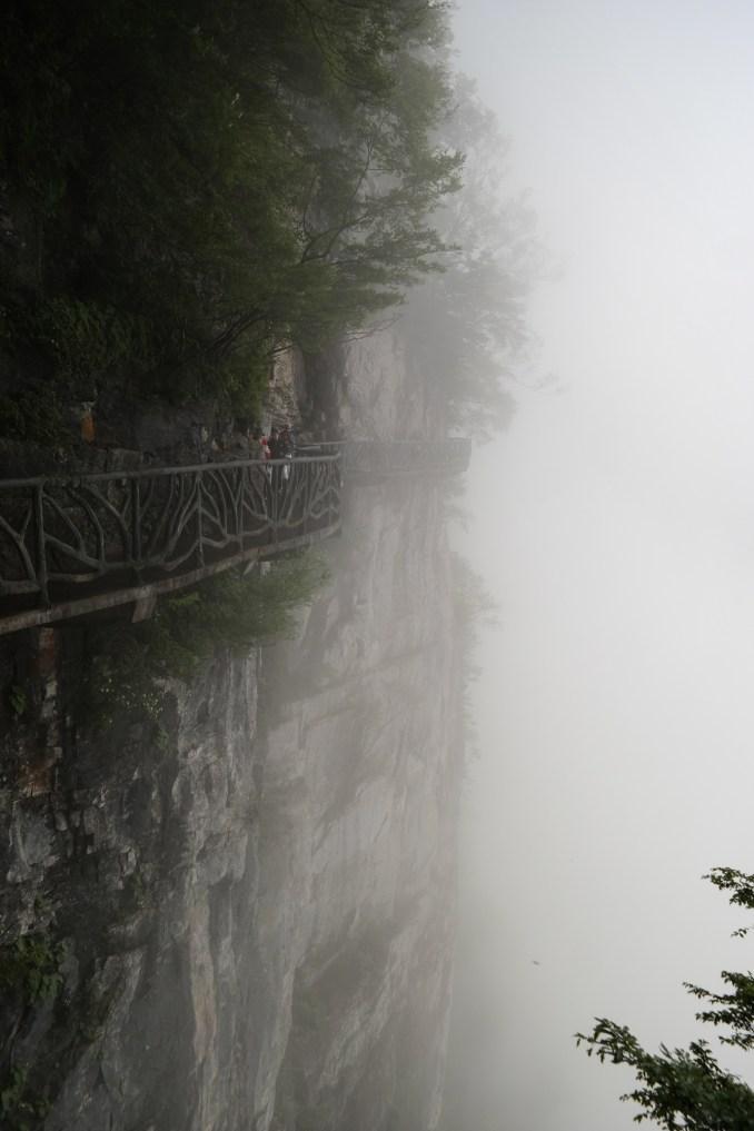 Szklany most na tianmen