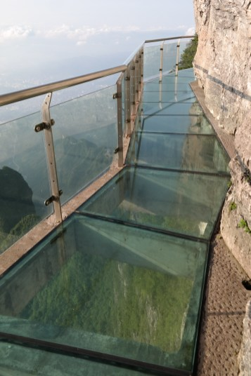 Western Glass Bottom Cliffside Path