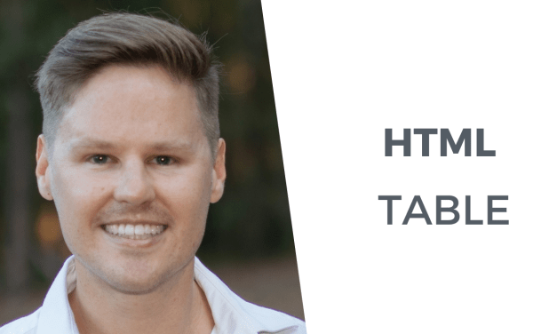 Best way to create an HTML table using HTML and CSS