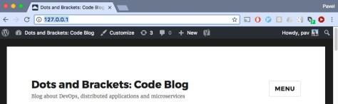 WordPress в Docker