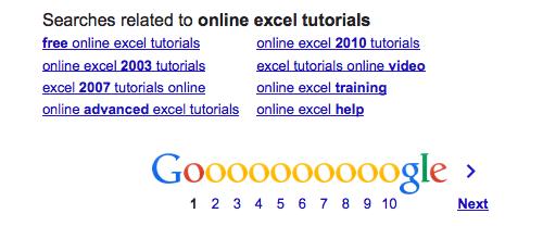 Online Excel tutorials - Google Search 2013-11-28 15-18-34