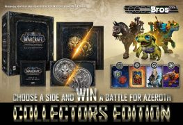 Giveaway: World of Warcraft Battle For Azeroth Collectors Edition