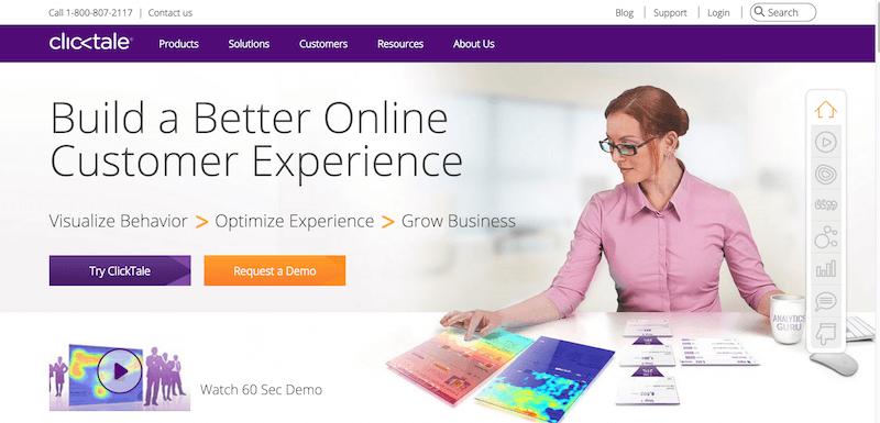 Improve Digital Customer Experience   ClickTale