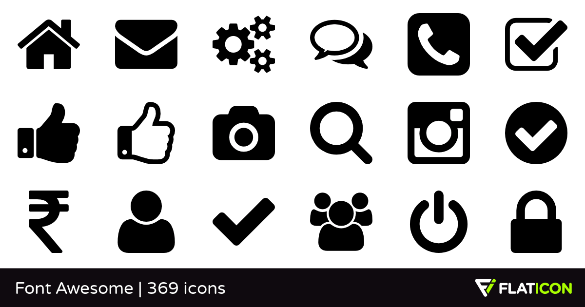 7 Awesome Icon Fonts for Web Designers