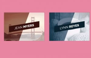 Pure CSS Image Hover with Slide Out Title Effect