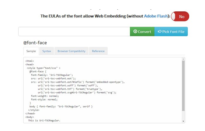10 Best CSS @Font Face Generator Tools Online