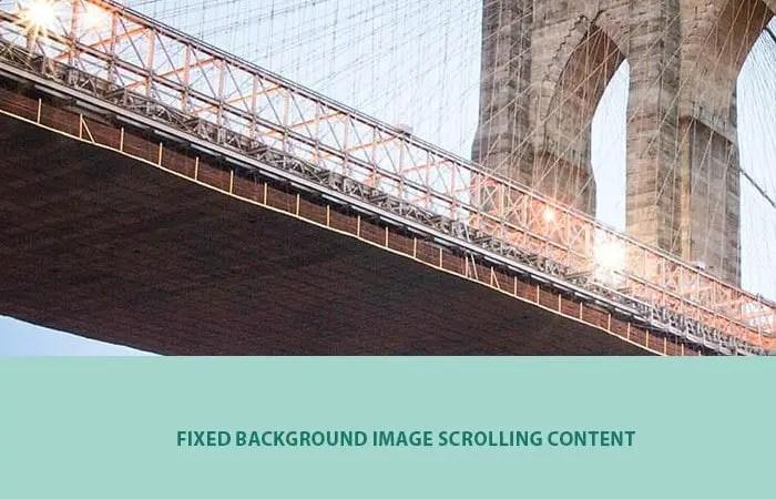 Fullscreen Video Parallax Background Using CSS3