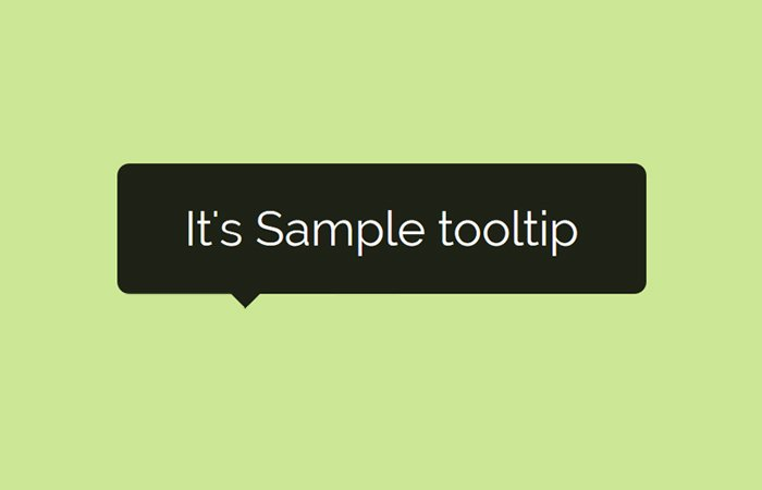 Pure HTML5 / CSS Tooltip Using Title Attribute