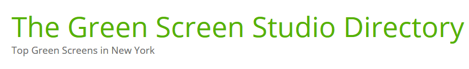 Greenscreenstudio logo