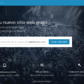 WordPress.com crea un sitio web o un blog gratuitos