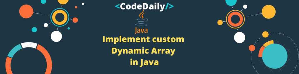 Implement ArrayList in Java CodeDaily