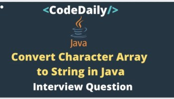 Convert Array to String Java