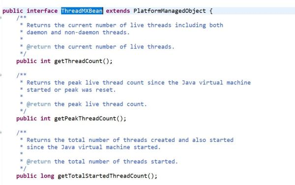 Deadlock detection in Java using ThreadMXBean