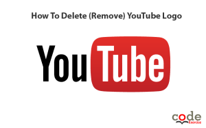 How To Delete -Remove- YouTube Logo