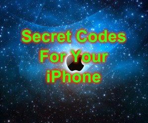 iPhone Secret Codes – Updated