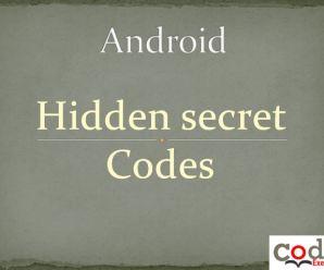 Android  Hidden Secret Codes