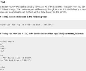 Best PHP Tutorial For Beginners (Format & Variables) Part – 2
