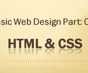 Lesson 4: Basic Webdesign Part-04