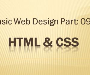 Lesson-09: Basic Webdesign: Part-09