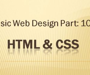 Lesson-10: Basic Webdesign: Part-10