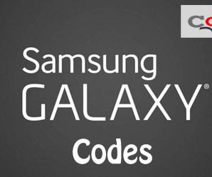 All Samsung Galaxy Codes (Secret) List.