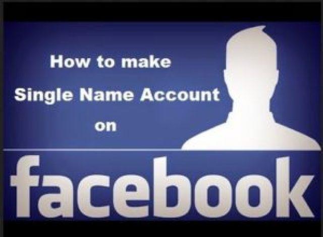 facebook single name