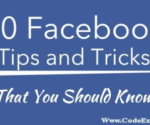 Facebook Secret Codes – All Tricks