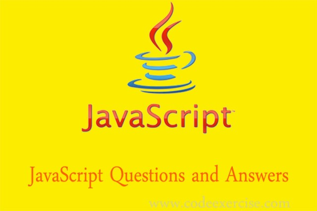 javascript questions and answers