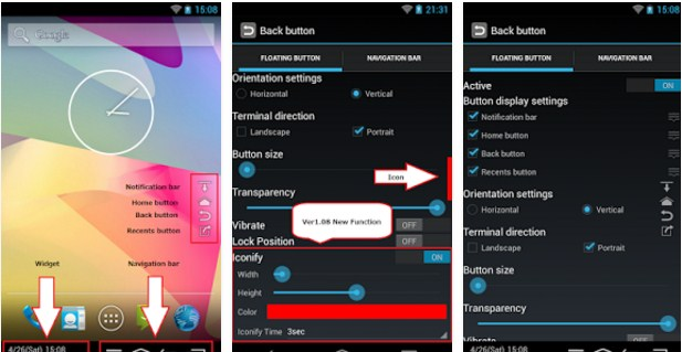 Add Home/Back Soft Button Keys On Android Without Root